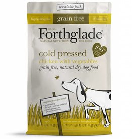 Forthglade Grain Free Cold Pressed Chicken with Veg 2 Months + Dry Dog Food