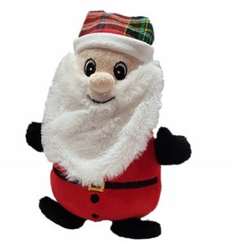 Ancol Christmas Cuddly Santa Dog Toy