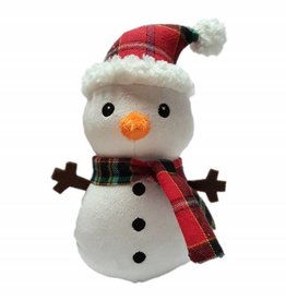 Ancol Christmas Cuddly Snowman Dog Toy