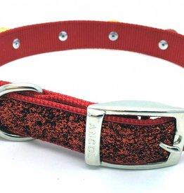 Ancol Christmas Glitter Dog Collar 39-53cm