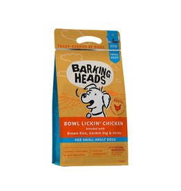 Barking Heads Bowl Lickin' Chicken Small Breed Adult Dry Dog Food, 1.5kg