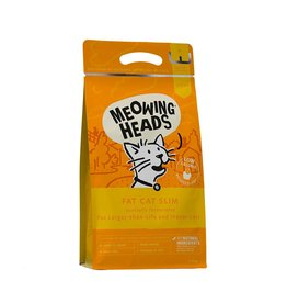 Meowing Heads Fat Cat Slim Light Adult Cat Dry Food, 1.5kg