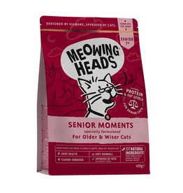 Meowing Heads Senior Moments, Senior Cat Food 1.5kg