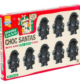 Armitage Christmas Dog Choc Santas Treats, 10 Pack 100g