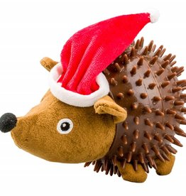 Armitage Christmas Hedgehog Santa Dog Toy 190mm /7.5inch