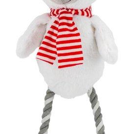 Armitage Christmas Hug Tug Polar Bear Dog Toy 300mm /12inch