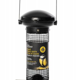 Tom Chambers Giant Heavy Duty Flick 'n' Click Wild Bird Peanut Feeder