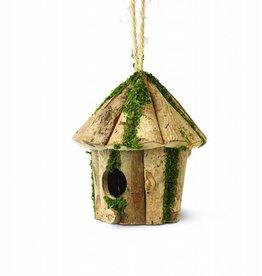 Tom Chambers Round Log Hut Rustic Nest Box