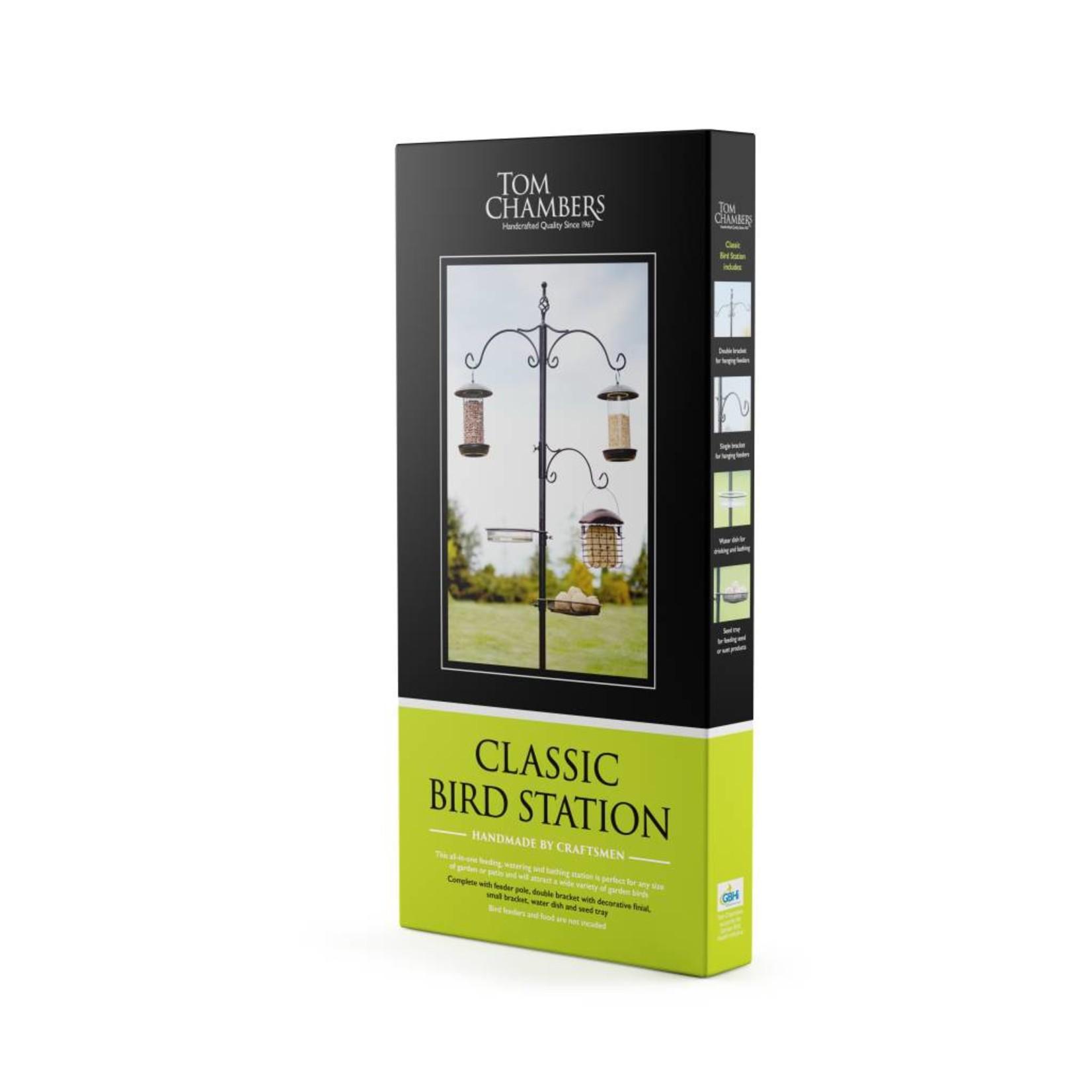Tom Chambers Classic Wild Bird Feeding Station, 220cm