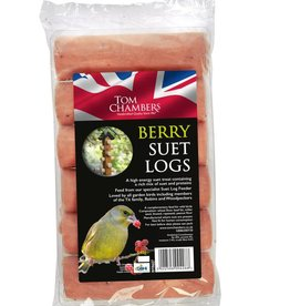 Tom Chambers Suet Log - Berry Wild Bird Food
