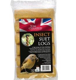 Tom Chambers Insect Suet Log Wild Bird Food