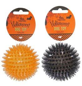 Rosewood Halloween Black/Orange Spike Ball