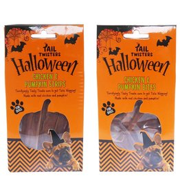 Rosewood Halloween Chicken & Pumpkin Strips for Dogs 70g
