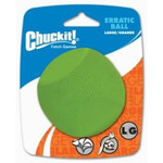 Chuckit Erratic Ball Dog Toy, Large 7.3cm