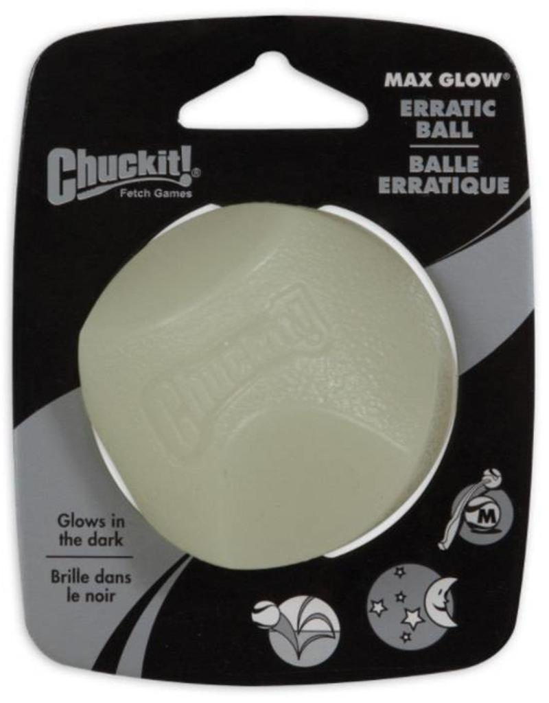 Chuckit Max Glow Erratic Ball Medium 6.5cm