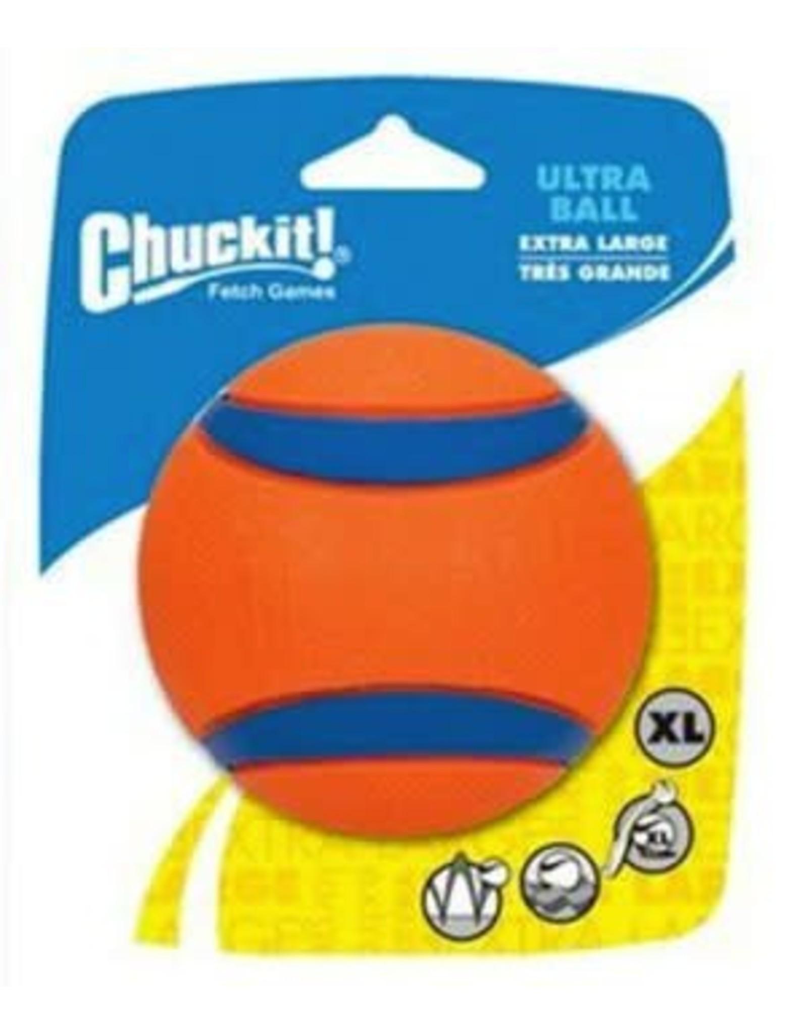 Chuckit Ultra Ball Extra Dog Toy, Large 9cm