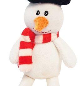 Happy Pet Christmas Catnip Snowman Cat Toy 18cm
