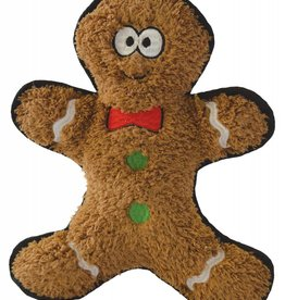 Happy Pet Christmas Crinkles Gingerbread Man Dog Toy 25cm
