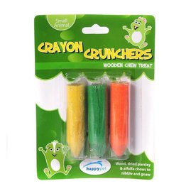Happy Pet Crayon Crunchers Small Animal Toy