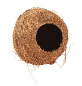 Happy Pet Coconut Hut for Small Animals
