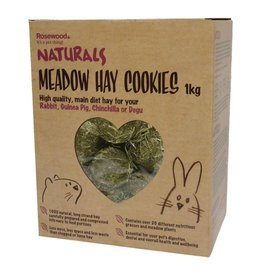 Rosewood Boredom Breaker Naturals Meadow Hay Cookies Small Animal Treat, 1kg