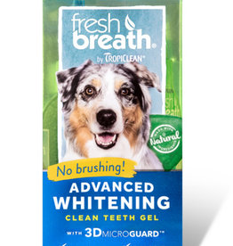 Tropiclean Fresh Breath Advanced Whitening Clean Teeth Gel