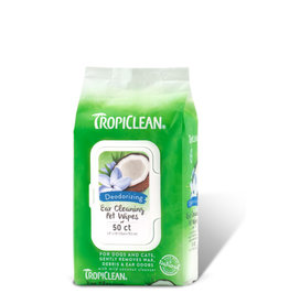 TropiClean Ear Cleaning Wipes 50 pieces