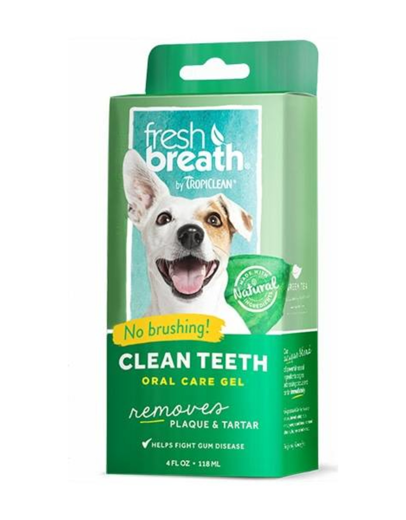 Tropiclean Clean Teeth Oral Care Gel, 118ml