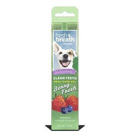 Tropiclean Clean Teeth Oral Care Gel, Berry Fresh, 59ml