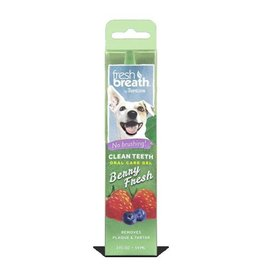 TropiClean Clean Teeth Oral Care Gel, Berry Fresh, 59ml