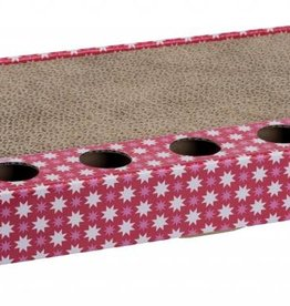 Trixie Cardboard Cat Scratcher with Play Balls, 48 x 5 x 25cm