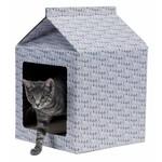 Trixie Cardboard Cat Scratching House, 34 x 48 x 34cm
