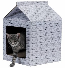 Trixie Cardboard Cat Scratching House, 34 x 48 x 34cm