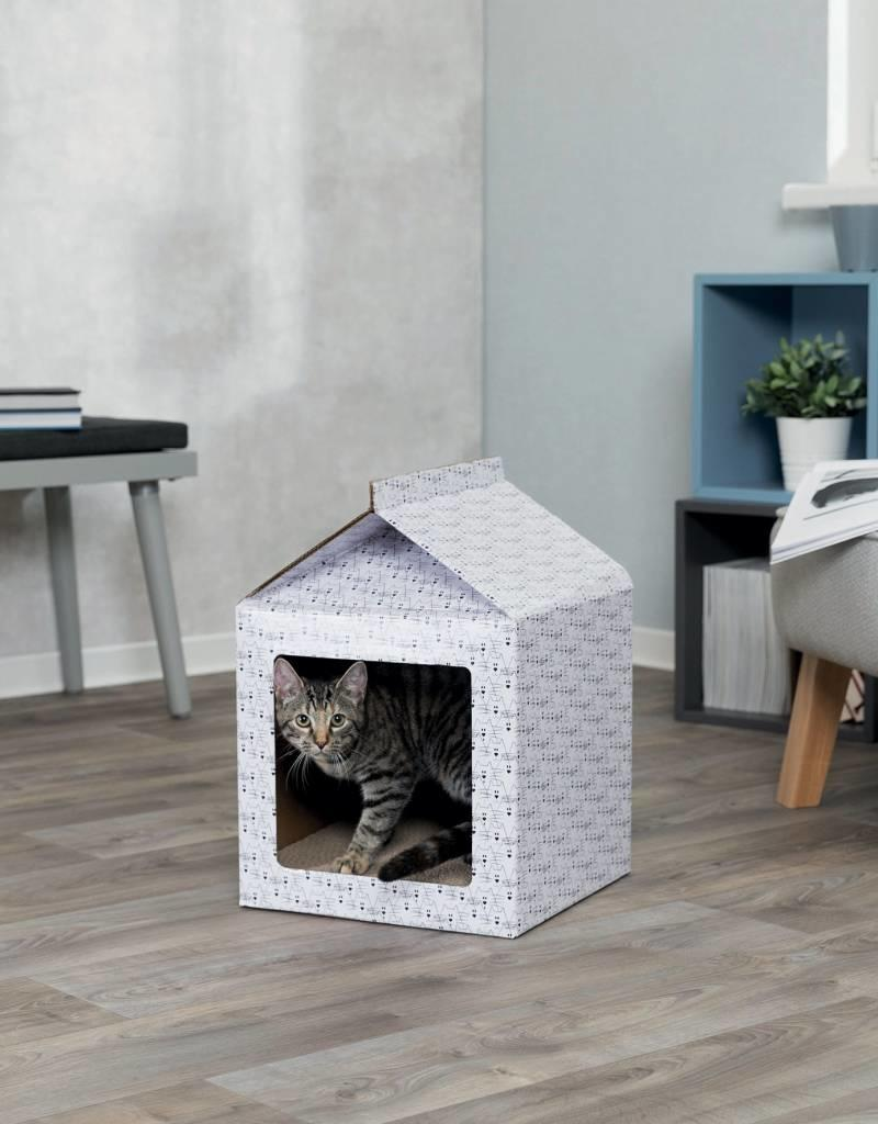 Trixie Cardboard Cat Scratching House