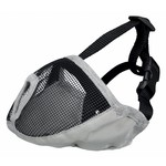 Trixie Muzzle for Short Nose Dog Breeds, in Grey