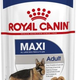 Royal Canin Maxi Adult Dog Wet Food Pouch 140g, Box of 10