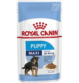 Royal Canin Maxi Puppy Wet Food Pouch, 140g