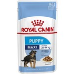 Royal Canin Maxi Puppy Wet Food Pouch 140g, Box of 10