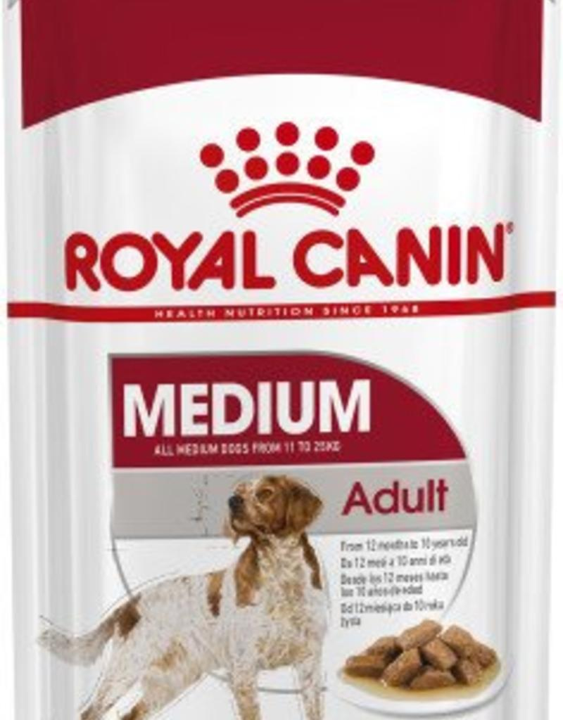 Royal Canin Medium Adult Dog Wet Food Pouch 140g