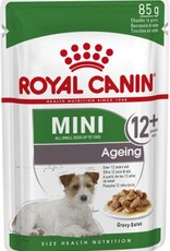 Royal Canin Mini Ageing 12+ Dog Wet Food Pouch 85g, Box of 12