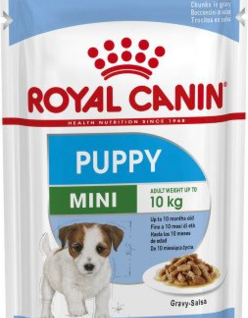 Royal Canin Mini Puppy Wet Food Pouch 85g