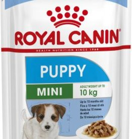 Royal Canin Mini Puppy Wet Food Pouch 85g, Box of 12