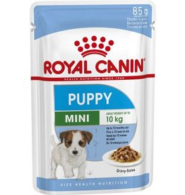 Royal Canin Mini Puppy Wet Food Pouch, 85g, box of 12