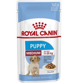 Royal Canin Medium Puppy Wet Food Pouch Pouch, 140g