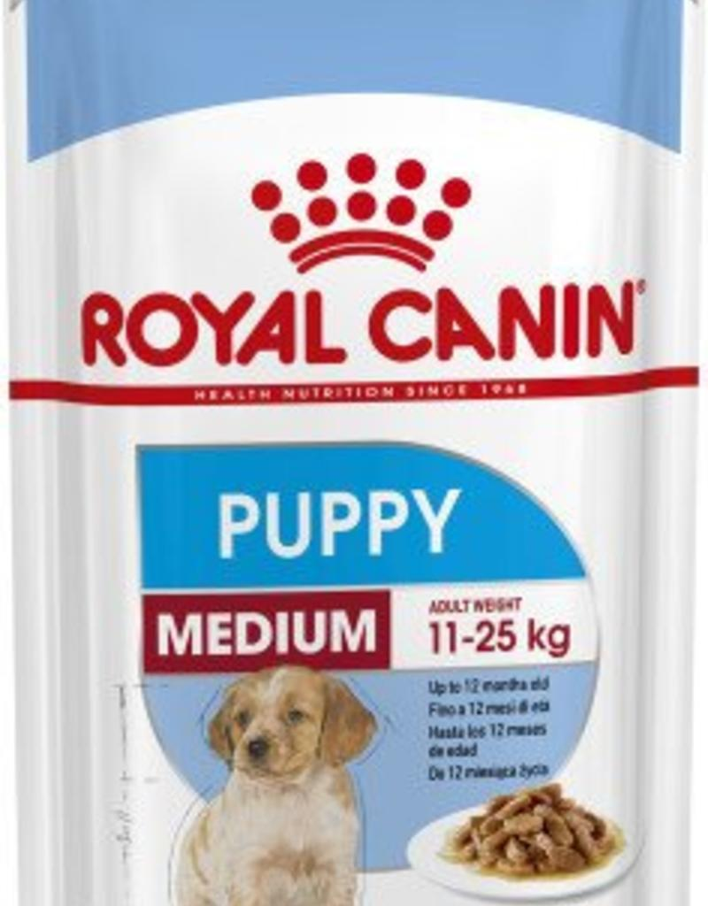 Royal Canin Medium Puppy Wet Food Pouch Pouch 140g