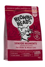 Meowing Heads Senior Moments, Senior Cat Food