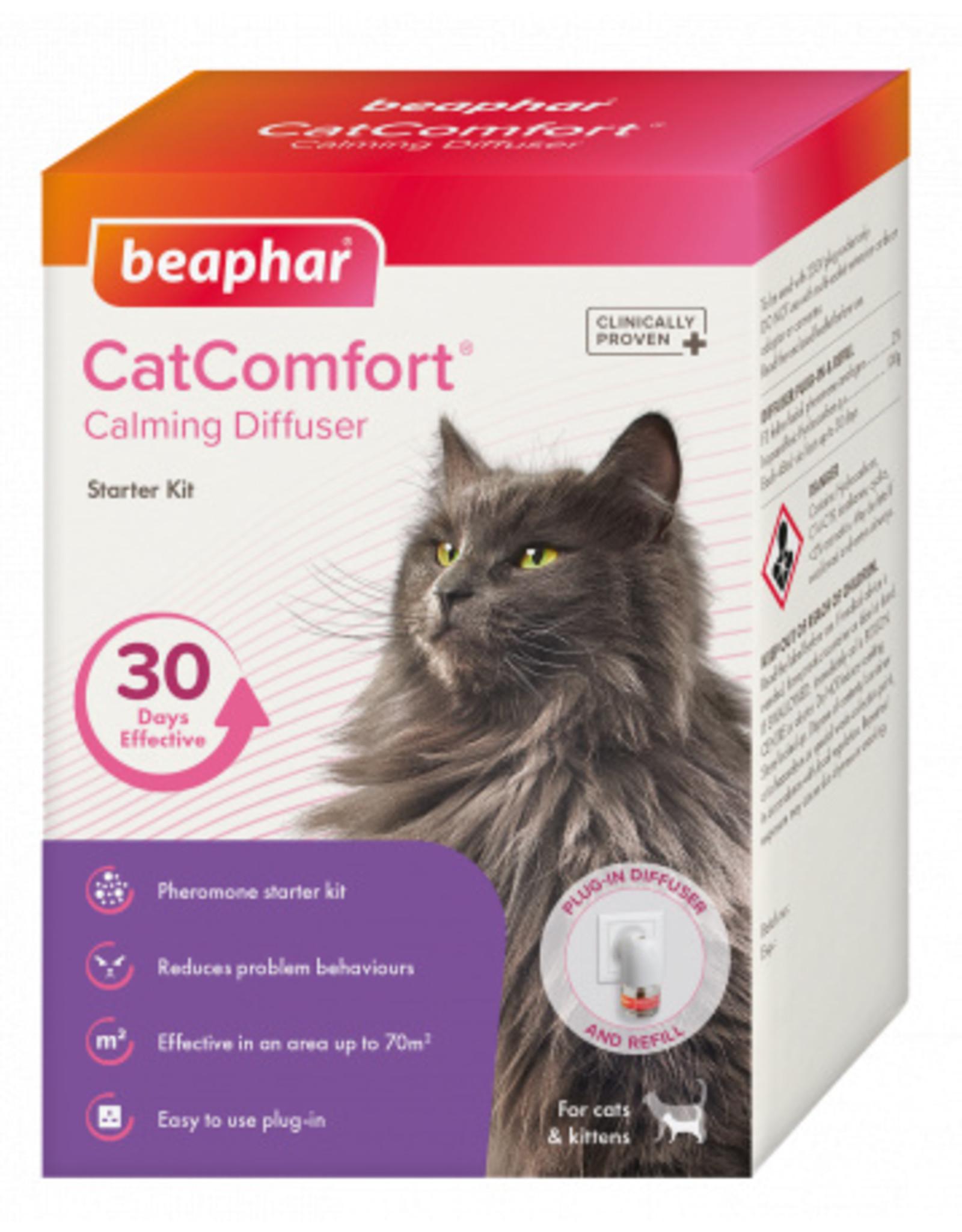 Beaphar CatComfort Calming Diffuser Starter Kit, 30 Days