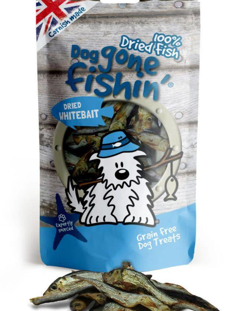 Dog gone fishin' 100% Dried Fish Dried Whitebait Dog Treats 60g