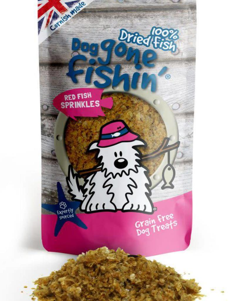 Dog gone fishin' 100% Dried Fish Red Fish Sprinkles Dog Treats 100g