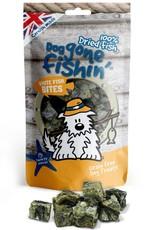 Dog gone fishin' 100% Dried Fish White Fish Bites Dog Treats 75g